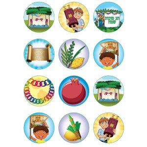 Sukkot Stickers