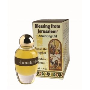Blessing from Jerusalem Jonah the Prophet Anointing Oil 12ml - 0.4fl.oz