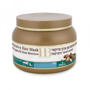 H&B Dead Sea Hair Repair Moroccan Oil Mask