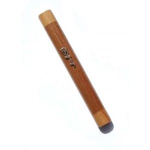 Two-tone Wood Mezuzah