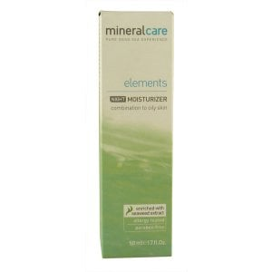 Mineral Care Elements Night Moisturizer Combination to Oily Skin