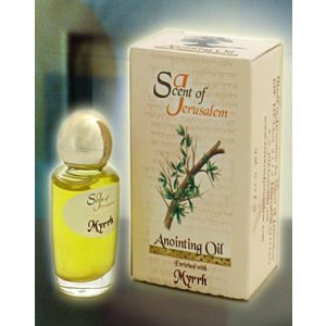 Scent of Jerusalem Anointing Oil Enriched with Myrrh