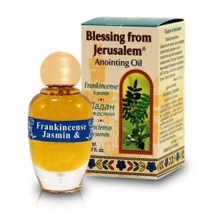 Blessing from Jerusalem Frankincense & Jasmine Anointing Oil 12 ml. - 0.4fl.oz