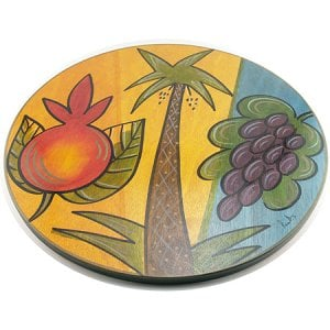 Holy Triple Lazy Susan by Kakadu Art