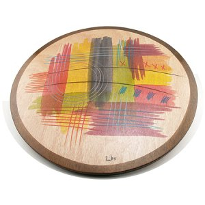 Lazy Susan Abstract by Kakadu Art