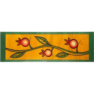 Table Runner Climbing Pomegranate by Kakadu Art
