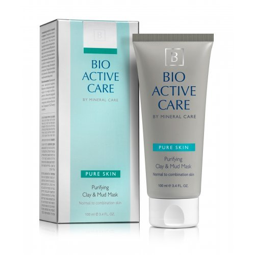 Bio Active Care Pure Skin Clay and Mud Mask by Mineral Care