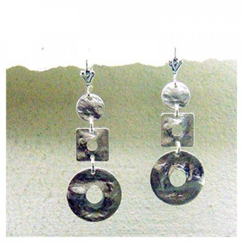 Dazzling Silver Mix Earring by Edita